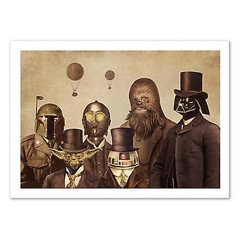 Art-affisch-viktorianska Wars-Terry fläkt 50 x 70 cm