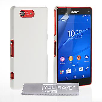 YouSave Sony Xperia Z4 compacte harde Hybrid Case wit