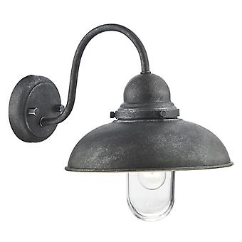 Dynamo 1 Light Wall Bracket Aged Iron Ip44