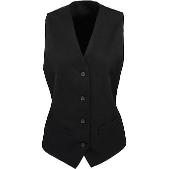 Premier - Femme Dames Lined Polyester Waistcoat