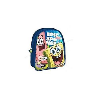 Sponge Bob ryggsäck blå asyl