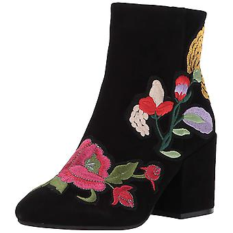 Kenneth Cole New York Women's Reeve 4 Block Heel Bootie with Embroidery Ankle