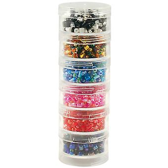 Bead Storage Screw Stack Cannisters 1.5