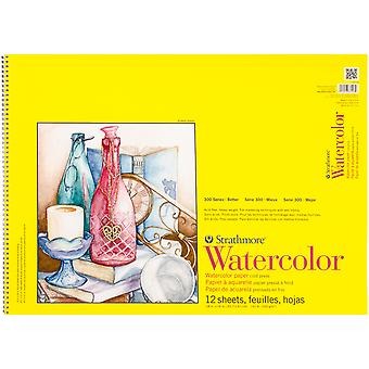 Strathmore Watercolor Spiral Paper Pad 18