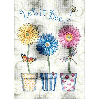 Jiffy Let It Bee... Mini Counted Cross Stitch Kit 5