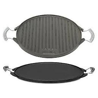 Comgas Cast Iron Reversible Griddle 42 cm. Round griddle.
