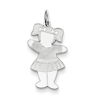 Sterling Silver Back to School Cuddle Charm - .6 Grams