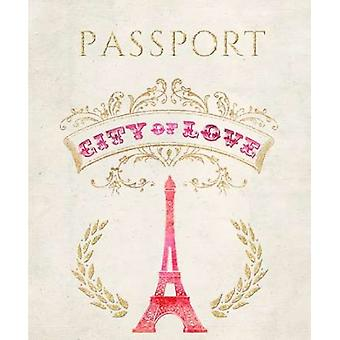 Romance Collection Passport Poster Print by Miyo Amori