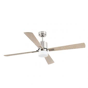 "Faro energy-saving DC ceiling fan Palk 132 cm / 52"" with light and remote control"