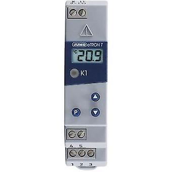 Jumo 701050/811-02 eTRON T Digital Thermostat 230 V Outputs 1 relay, 250 V/10 A Sensor type Pt100/Pt1000/KTY 2X-6