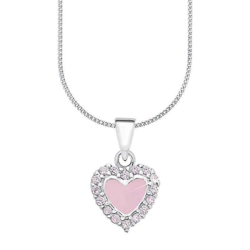 Princess Lillifee child kids necklace silver heart PLF7/5 - 9063574