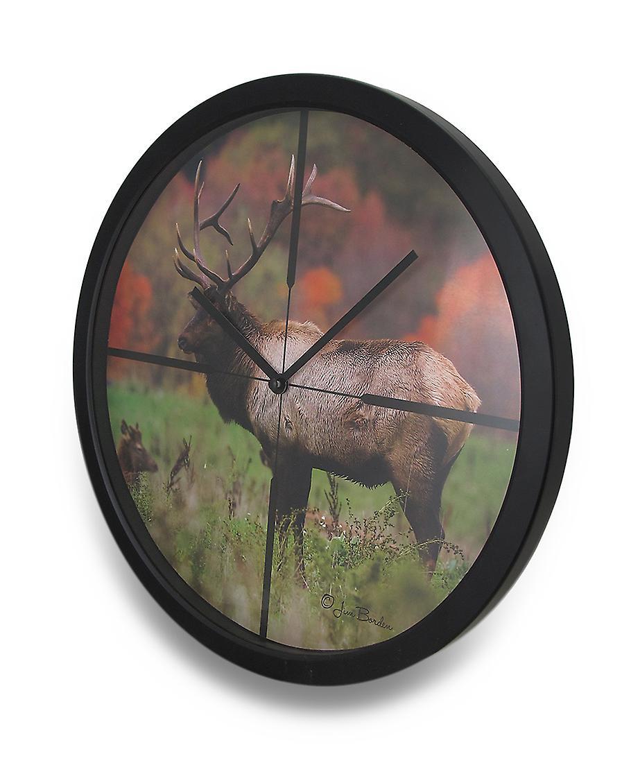 Image Atomique Elk Dans Portée Hd Horloge Poils Automne Croisée 13 EI2e9HDWY