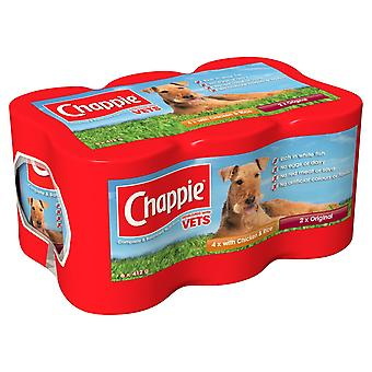Chappie Can Favourites Jumbo 4x6x412g