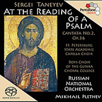 S. Taneyev - Sergei Taneyev: At the Reading of a Psalm [SACD] USA import