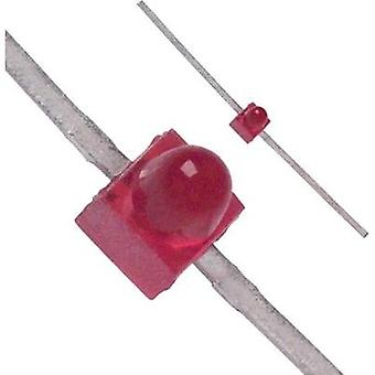 LED wired Red Circular 1.9 mm 2 mcd 90 °