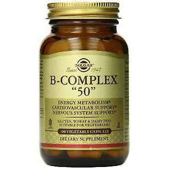 Solgar Vitamin B Complex  50  100 Capsules (Vitamins & supplements , Vitamins)