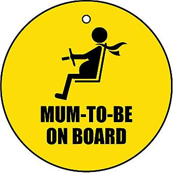 Mum To Be On Board Car Air Freshener