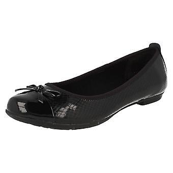 Chicas seniors Bootleg por escuela Clarks zapatos Tizz esperanza