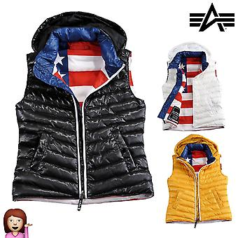 Alpha industries vest of down vest Wmn