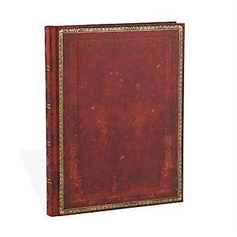 Paperblanks Old Leather Ruled Ultra Notebook - Venetian Red (Old Leather Classics) by Lin.