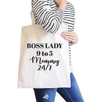سيدة رئيسة الأم الطبيعية قماش حقيبة الهدايا روح الدعابة للأمهات متسلط