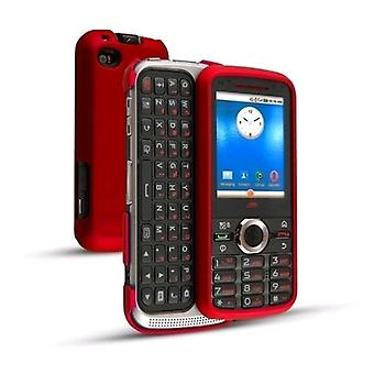 Technocel Soft Touch Snap On Case for Nextel i886 - Red