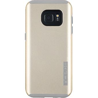 Incipio DualPro Case for Samsung Galaxy S7 (Champagne/Gray)