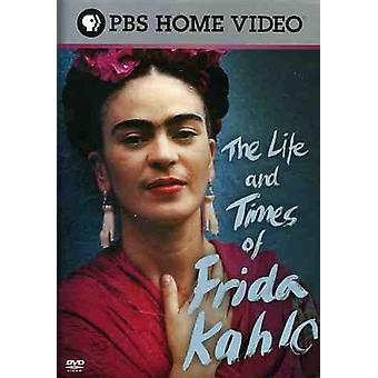 The Life and Times of Frida Kahlo [DVD] USA import