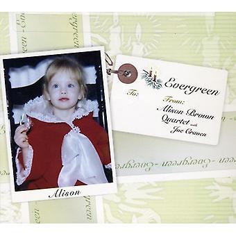 Alison Brown cuarteto - importación de Evergreen de Estados Unidos [CD]