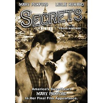 Secrets [DVD] USA import