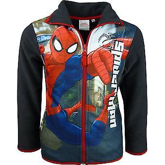 Jongens Marvel Spiderman Fleece doorlopende rits Sweatshirt