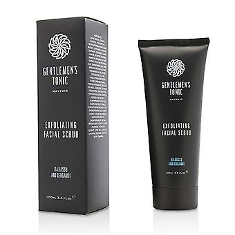 Gentlemen's Tonic Babassu And Bergamot Exfoliating Facial Scrub 100ml/3.4oz