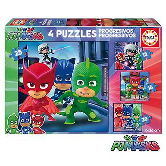 Educa Pjmasks Puzzle Progresivo 12-16-20-25 Piezas (Toys , Preschool , Puzzles And Blocs)