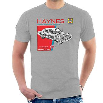 Haynes właścicieli Workshop Manual 0033 Hillman Hunter GLS Men's T-Shirt