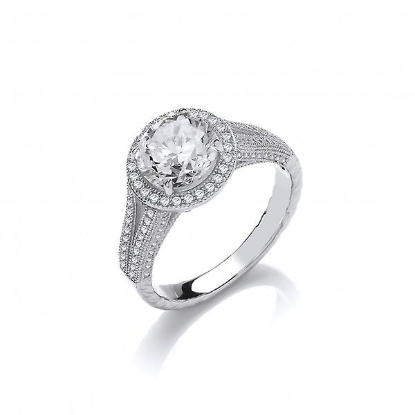 Cavendish French Glamour Galore! Silver and CZ Ring
