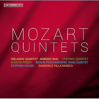 Mozart/Orlando Qrt/Imai/Vertavo Qrt/Frost - quintettes [CD] USA import