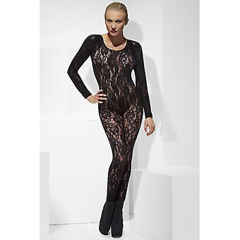 Black Lace catsuit