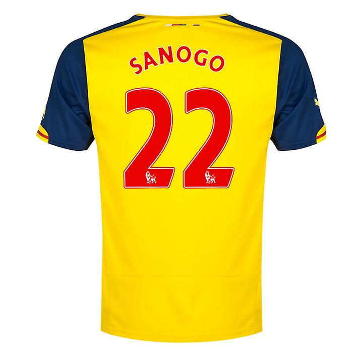 2014-15 Arsenal Away Shirt (Sanogo 22)