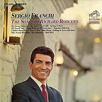 Sergio Franchi - Songs of Richard Rodgers [CD] USA import