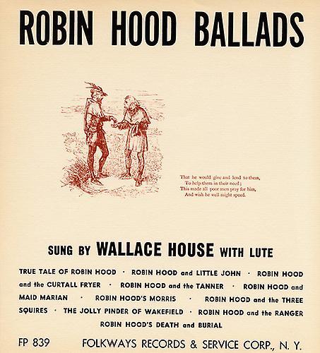 Wallace House - Robin Hood Ballads [CD] USA import