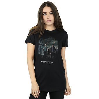 Supernatural Women's Meteor Shower Boyfriend Fit T-Shirt
