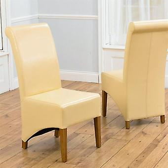 Mark Harris Bromley Solid Oak Legs Dining Chair (pair) - Options