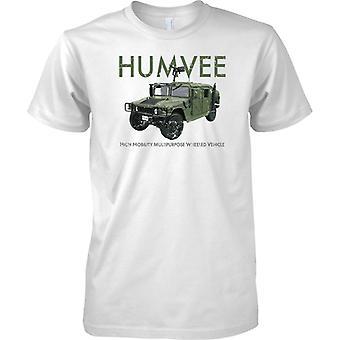 HUMVEE High Mobility Multipurpose Vehicle - US Military - Mens T Shirt