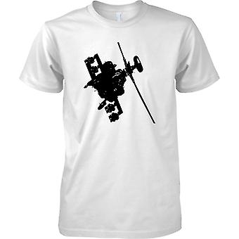 Apache helikopter flyger - Awesome militära Chopper - barn T Shirt