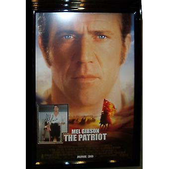 The Patriot - Signed Movie Poster
