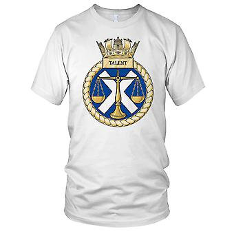 Royal Navy HMS Talent Kids T Shirt