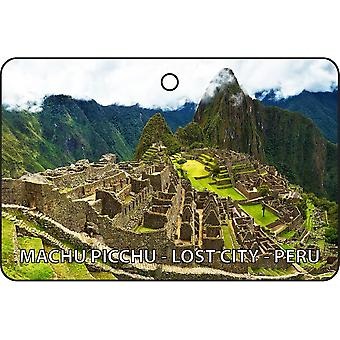 Machu Picchu - Lost City - Peru Car Air Freshener