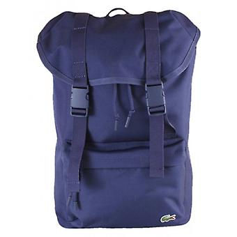 Lacoste Flap Backpack - Peacoat Navy