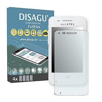 Alcatel one touch fire 4012A screen protector - DISAGU FullFlex protector