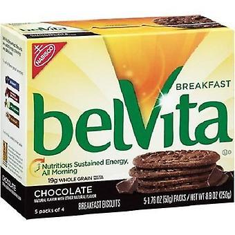 بيلفيتا الشوكولاته بسكويت مربع 2 حزمة خدمة فطور
